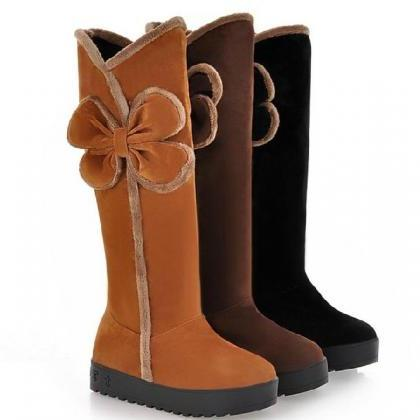 Ulass Knee high boots winter boots ..