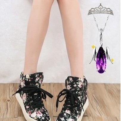 Ulass Floral shoes soled platform s..