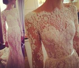 Ulass Lace Dress-Lac..