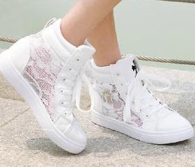 Casual Lace High Top..