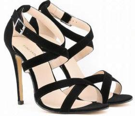 Suede Strappy Criss ..