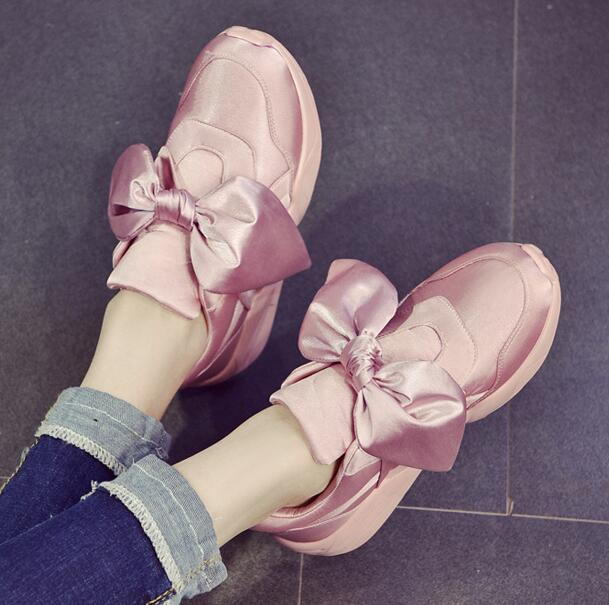 Ulass Sweet Bowknot Sneakers ( 2 colors )