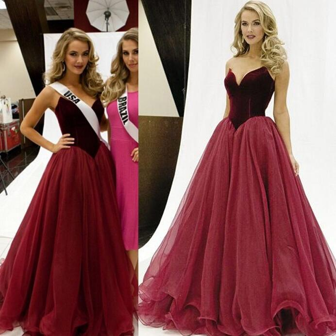 41873e15268 Ulass Hot Charming Prom Dress V-Neck Prom Dress A-Line Prom Dress Organza