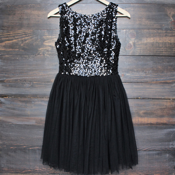 Ulass sugar plum dazzling sequin with tulle darling party dress