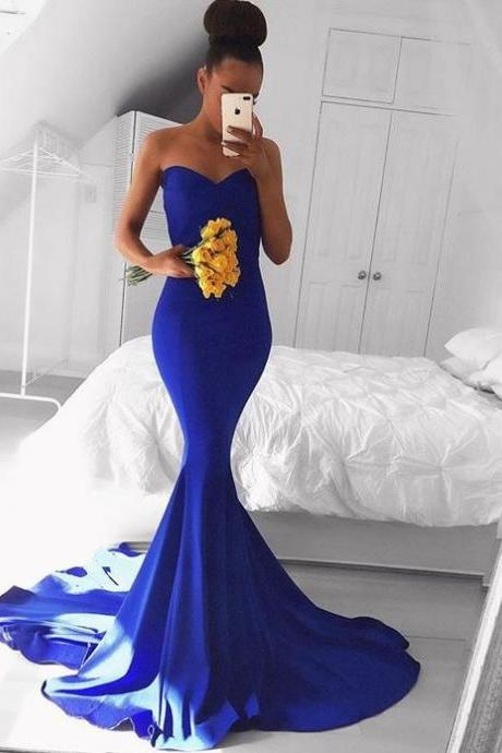 Ulass Prom Dresses, Sexy Party Prom Dress, Royal Blue Prom Dresses, Cheap Formal Prom Dresses