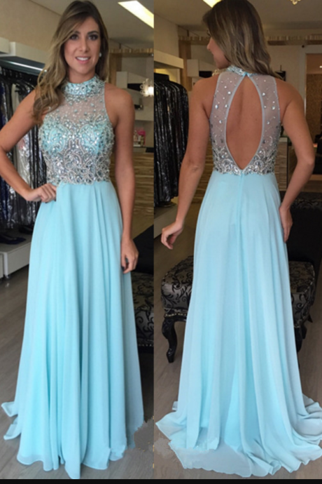 Light Blue Prom Dress,Prom Dress Open Back, Long,Cheap Prom Dress,Sales Prom Dress,Homecoming Dress, 8th Grade Prom Dress,Holiday Dress,Evening Dress