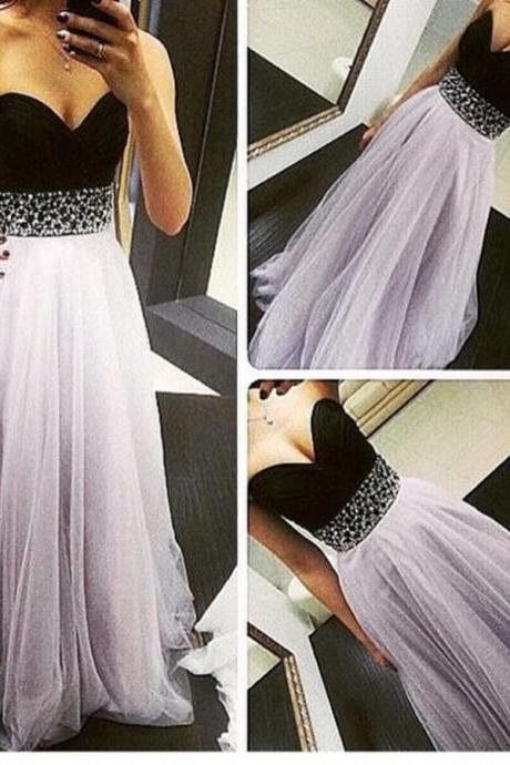 Ulass 2016 Hot High Quality Light Lavender Tulle Prom Dresses 2016 Long Prom Dresses 2016 Prom Gowns Evening Gowns