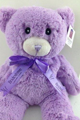 Ulass Hot Sale Lavender Bear ,Bridestowe Lavender Heat Bear, Teddy Bear Plush Toys, Purple Bear By Junior Partner