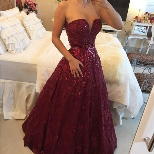 Ulass Appliques and Satin Prom Dresses, Floor-Length Prom Dresses, Sexy Prom Dresses, A-Line Prom Dresses, Charming Backless Evening DressesBeading Prom Dresses,Sweetheart Floor-Length Evening Dresses, Real Made Evening Dresses, A-Line Sequins Evening Dresses, Charming Hot
