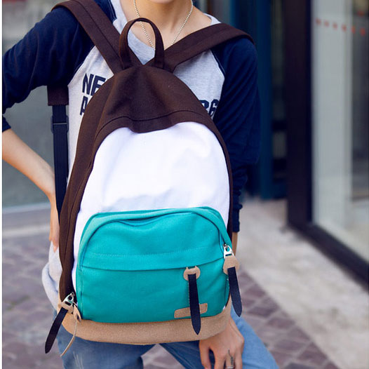 Ulass Leisure Multi color Canvas Backpacks BB-32